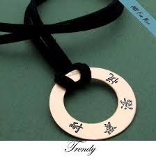 Mens Personalized Necklace Id Mens Necklace Personalized Leather Chokker For Men