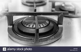 stylish kitchenware stove black and white stock photos u0026 images alamy