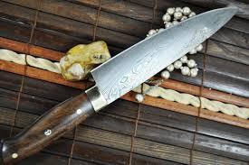 handmade kitchen knives uk custom made chef s knife damascus steel ideal for bushcraft