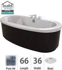 Basic Bathtub Faucet Com Brf6636acx2xxb In Black By Jacuzzi