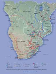 Map Of South Africa by Map Of South African Electricity Grid South Africa National