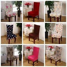 dining room chair covers dining room chair slipcovers ebay