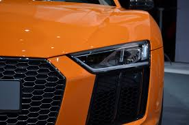 audi r8 headlights 2017 audi r8 to arrive with v10 plus more autoguide com news