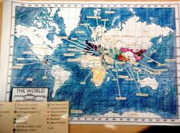 sample dbq essay ap world history unit 1 2 map hinzman s ap world history honors world history sample map with overlay to show theme new key