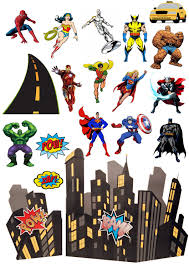 marvel cake toppers marvel edible wafer card cake topper