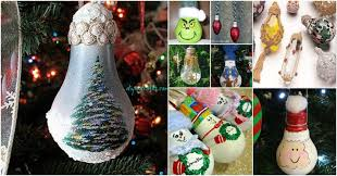 insanely easy light bulb decorations and ornaments diy