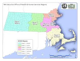 Massachusetts State Map by Massachusetts Environmental Public Health Tracking