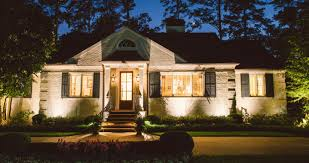 Manor House Landscape Lighting Outdoor Lighting Perspectives