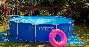 canap gonflable piscine piscine gonflable pas cher image photo de décoration extérieure et