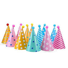 birthday hats 12pcs party hats lovely paper cone birthday party