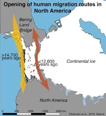 North And South America Map by New Study Refutes Theory Of How Humans Populated North America
