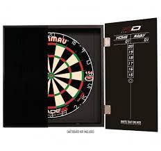 black dart board cabinet rd deluxe black dartboard cabinet