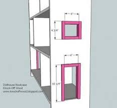 Furniture Plans Bookcase Free by Best 25 Dollhouse Bookcase Ideas On Pinterest Little Girls