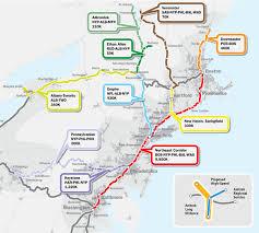 Amtrak Map East Coast Us Northeast Regional Wall Map By Geonova Wall Map Of Northeast