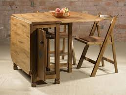 Small Folding Wooden Table Compact Folding Tables And Chairs For Organized Room Décor Room