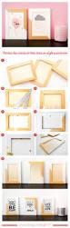 chambre bebe design scandinave peindre des cadres en bois pour une décoration dans un style