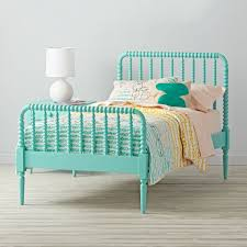 What Is A Trundle Bed Jenny Lind Kids Bed Teal The Land Of Nod