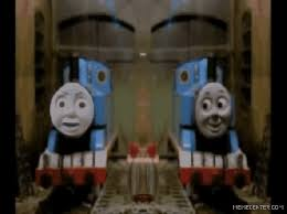 O Face Meme - thomas o face the tank engine know your meme making model trains gif