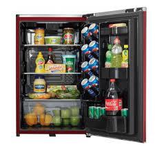 danby contemporary classic mini fridge red rc willey furniture