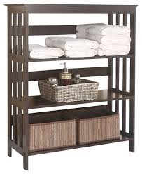 Free Standing Shelf Design by Bathroom Standing Shelf Home Design