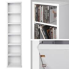 scaffale porta cd tectake scaffale porta cd dvd archiviazione 102 cd supporto di