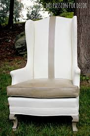 Distress Leather Chair My Passion For Decor A Much Needed Update For An Old Vinyl Chair