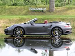 grey porsche 911 turbo current inventory tom hartley