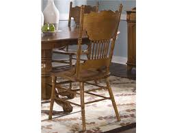 liberty furniture bar and game room opt 5 piece round table set 10