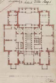 344 best architectural plan elevation studies images on pinterest christian friedrich von leins villa berg grundriss des obergeschosses 1845 jpg building plansvillasfriedricharchitectural