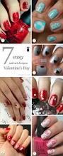 valentine u0027s day nails 7 easy nail designs