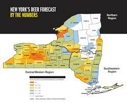 Wmu Map 2015 Trophy Deer Forecast New York Game U0026 Fish