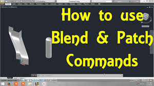 home design by engineer how to use blend and patch commands in autocad by engineer autocad