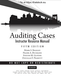 solutions manual auditing cases an interactive learning approach