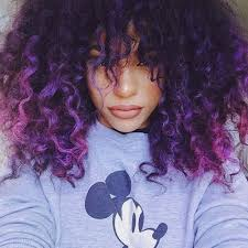 getting hair curled and color best 25 curly purple hair ideas on pinterest awesome hair
