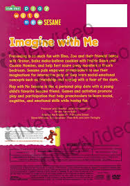 imagine with me play with me sesame sesame on dvd