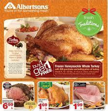 albertsons nw coupon deals 11 19 11 27 bogo turkey 10 lb
