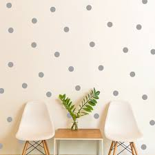 using polka dots creatively in interior design to liven up a room https www aliexpress com item img polka dots wall sticker gold silver black white wall decals vinyl stickers home decor living room 32676513472 html