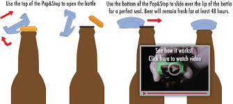 beer bottle cartoon home pop u0026 stop