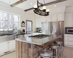 kitchen island reclaimed wood interior design