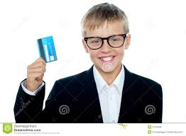 debit cards for kids smiling and boy studying architecture royalty free