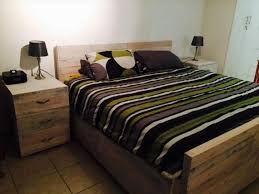 Beautiful Bed Frames Furniture White Pallet Bed Beautiful Diy With Storage In