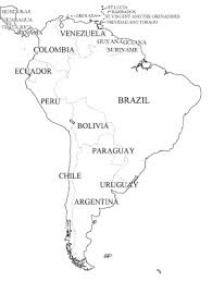 map of and south america black and white southamerica wintery