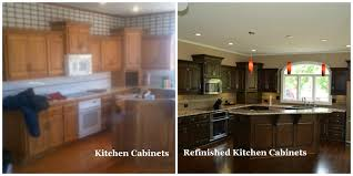 Resurfaced Kitchen Cabinets Before And After Resurfaced Kitchen Cabinets Before And After On 1250x780 Before