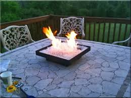 Propane Fire Pits With Glass Rocks by Portable Propane Fire Pits