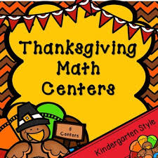 kindergarten thanksgiving math centers 8 november math centers tpt