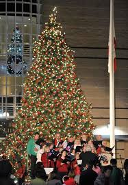 irvine marks u0027start of christmas season u0027 with tree lighting