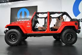 rubicon jeep modified jeep wrangler red rock concept rocks sema 2015