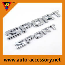 list manufacturers of chrome letters for cars sport buy chrome
