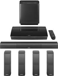 used bose home theater system bose lifestyle 650 home entertainment system black lifestyle 650