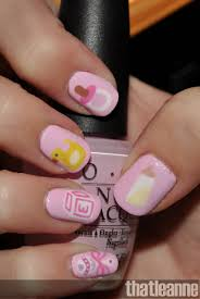 thatleanne baby nail art and some new scented candles